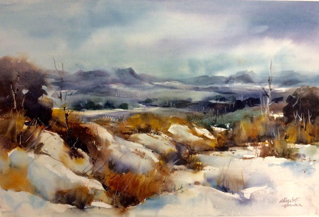 'Winter Chill - Tasmanian Highlands' - SOLD