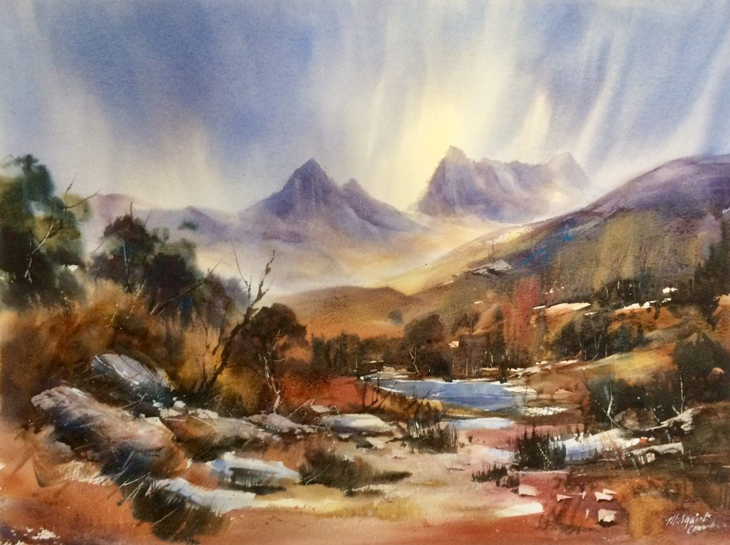 'Autumn's Glow - Cradle Mountain National Park' - SOLD