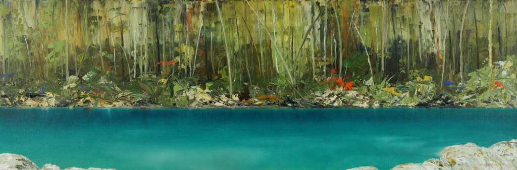 'Disappearing Tarn' - SOLD