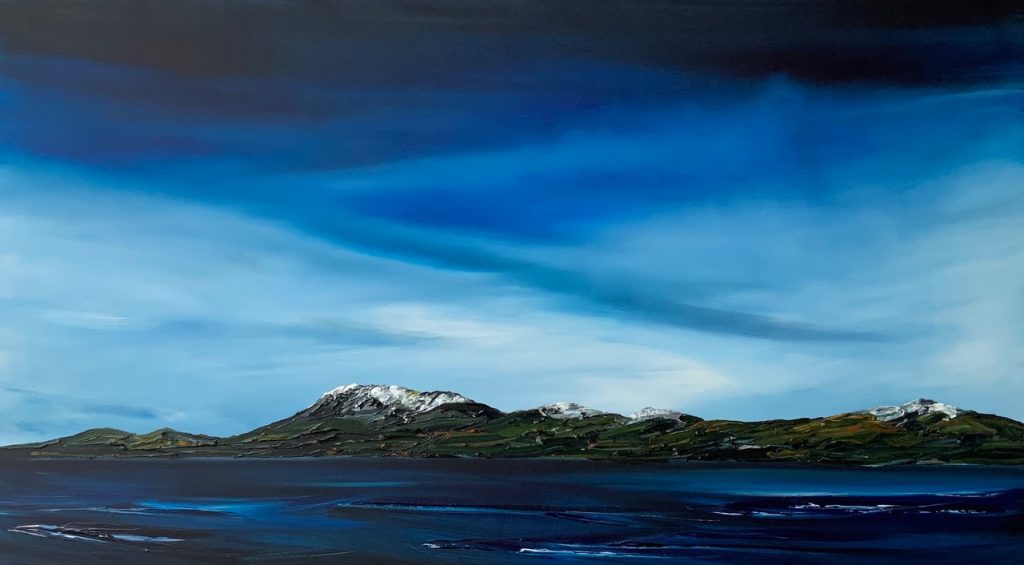 'Mount Wellington from Otago Bay' - SOLD