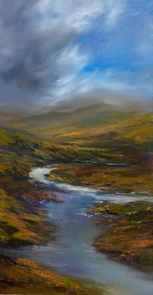 'Cloud Break Vale River' - SOLD
